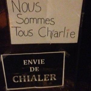 Charlie envie de chialer