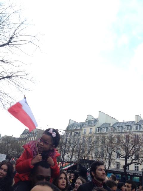 Murzyneczka z flaga