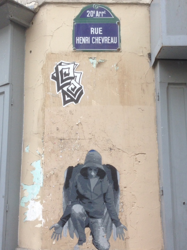 Mural chlopiec chevreau