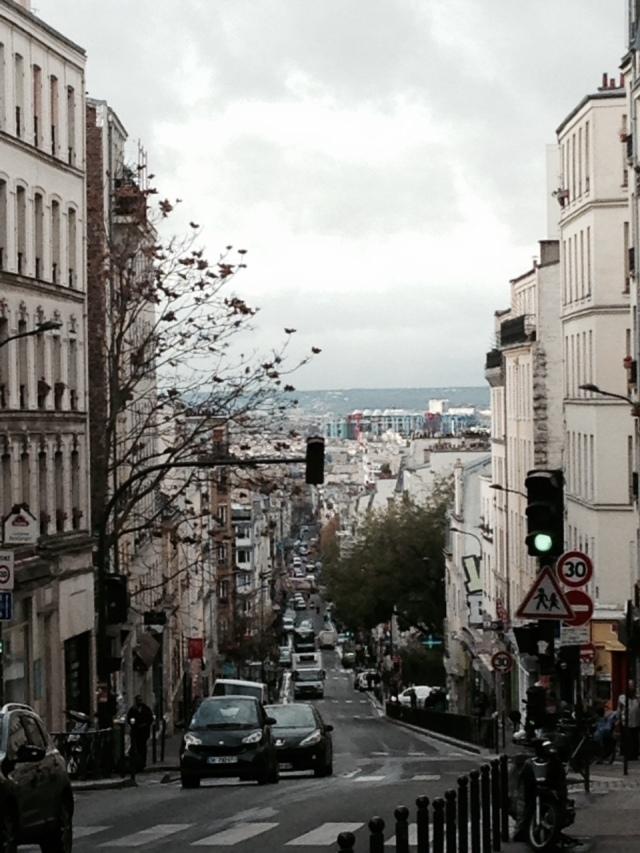 Widok Paryza