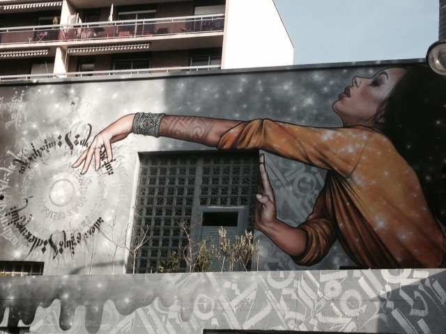 Mural oriental