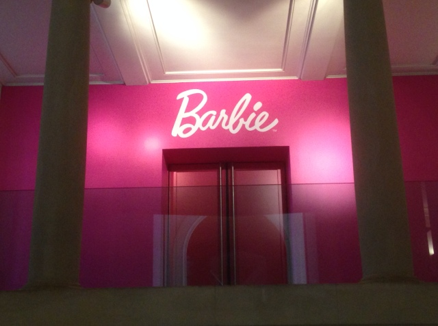 Barbie wejscie
