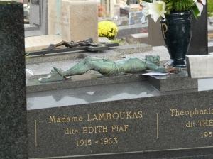 Père Lachaise Edith Piaf