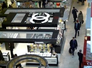 Stoisko Chanel